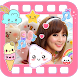 Kawaii Video Editor with Cute Stickers for Photos by Best Photo Editor and Collage Maker Camera Effects