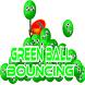 Green Ball Bouncing by RAM04