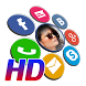 HD Contact Widgets (Promo) by Makeev Apps