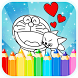 Coloring Book For Doraemon Fan by Coloring Games Lab