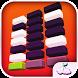 Blocks Race White Tiles Piano by Rainbirth SLU