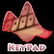 Maroon Keypad Layout by Omega Themes