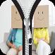 Smiley Emoji Zipper Lock by Fona Locker