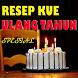 Resep Kue Ulang Tahun Lengkap by atepsusu