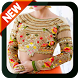 Blouse Designs Collar Neck Fancy Sleeve Backless by Prangel Technology