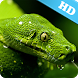3D Snake Live Wallpaper HD