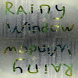 Rainy window