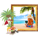 Beach Photo Frame Editor