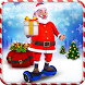 Santa Hoverboard Gift Delivery by Cyberstorm Studios