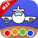 Coloring Book - Travel MAX by ME-ZZ — creativity for kids & adults, boys & girls