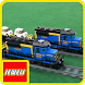 Jewels Of LEGO Trains Freight by Starvax-queen
