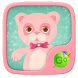 Pink Bear GO Keyboard Theme by GO Keyboard Dev Team