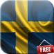 Flag of Sweden Live Wallpaper by Magic Flags