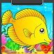 Fish Coloring Book by Creativ Coloring Books