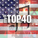 my9 Top 40 : US music charts by beCreative tech