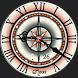 Compass Rose Watch Face by Cyndi Mainolfi