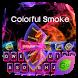 Colorful Smoke Keyboard Theme by Best Design Keyboard
