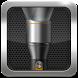 Black Metal Flashlight by Phone Pal