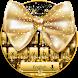 Golden Bow Keyboard Theme