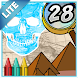 Coloring Book 28 Lite: World History by Dataware