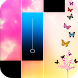 Piano music : pink magic tiles