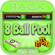Hack For 8 Ball Pool Game App Joke - Prank. by All Apps Hacks Here