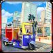 Extreme Rickshaw Cargo Transport: Driver Simulator