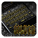 Silver Gold Keyboard by Cool Theme Studio