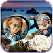 Goggles Dual Photo Frame by fiziapps