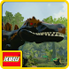 Jewels of LEGO Jurassic Dinos by gemby ipunk25