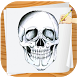 How To Draw Skull step by step by Drawing Studio Pro