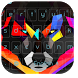 Wild wolf keyboard theme by Neon launcher theme - wallpapers