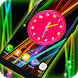 3D Neon Clock Live Wallpaper