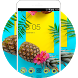 Pineapple Theme:Summer Holiday fruit Wallpaper HD by Cool Theme Workshop