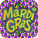 Mardi Gras Cards and Stickers by AppsUniverse