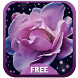 Purple Rose Theme by Amazing Keyboard Themes