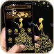 Gold Butterfly Girl Theme by Kingmon Themes
