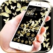 Gold butterfly Theme by fancy themes