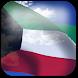 3D Kuwait Flag by App4Joy