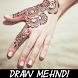 Learn How To Draw Mehndi