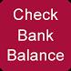 Bank Balance Enquiry by siya developer