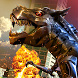 Robot Dinosaur Future Transform City Wars by White Sand - 3D Games Studio