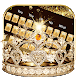Gold diamond crown Keyboard Theme by Neko Art Theme