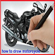 How to Drow Motorcycle by sumberurip