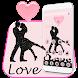 Romantic love dance Theme