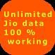 Get Unlimited data (Jio) by Monika Sharma