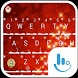 Red Christmas Tree Keyboard by Love Free Themes