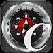 Compass With LED Flashlight by Gulyás József