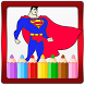 Super Hero Coloring Book by Coloring World for Kids