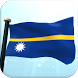 Nauru Flag 3D Free Wallpaper by I Like My Country - Flag